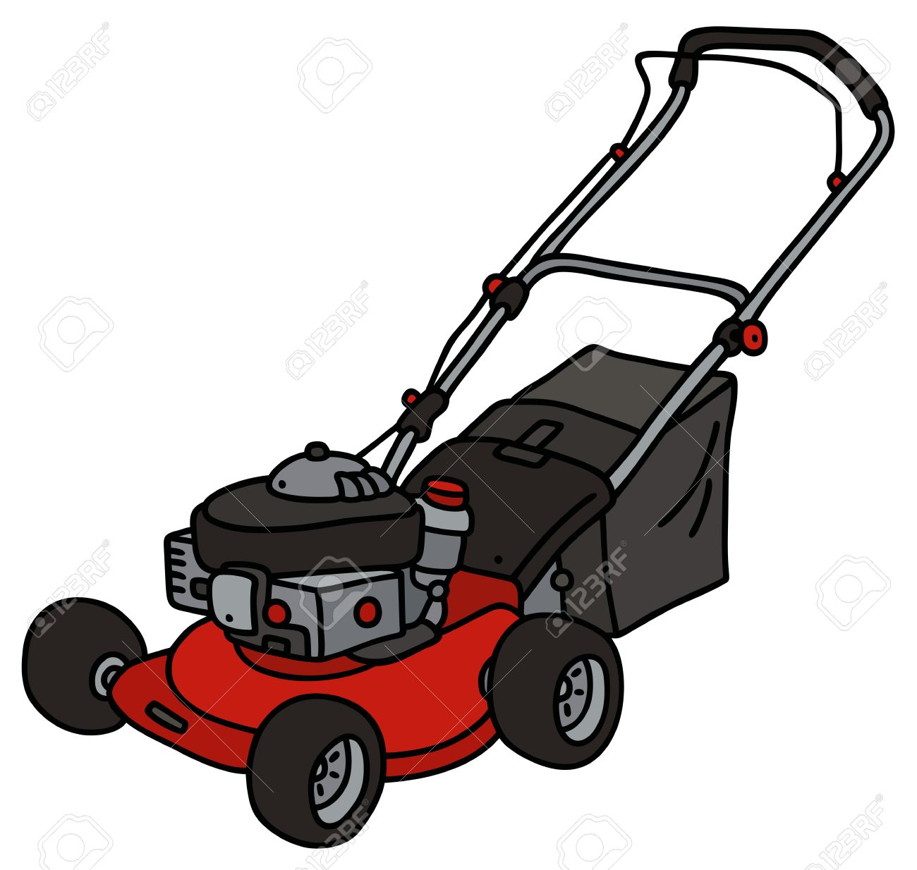 lawn mower drawing at getdrawings com free for personal use lawn rh getdrawings com cartoon lawn mower clipart free