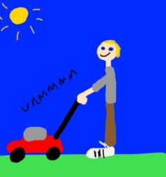 236x252 How To Draw A Cartoon Lawn Mower Lawn Mower, Lawn And Cartoon