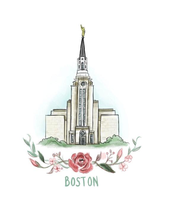 570x738 Boston Temple Lds Flower Wreath Flowers Mormon Temple