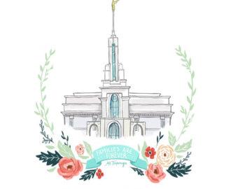340x270 Lds Fhe Temple Etsy