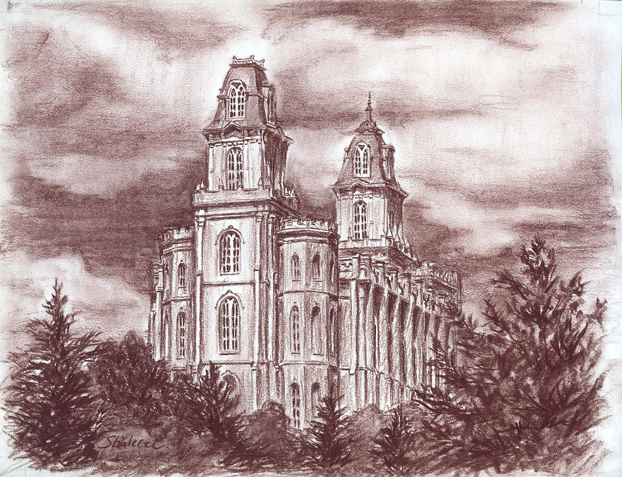 Lds Temple Drawing at GetDrawings.com | Free for personal use Lds ...