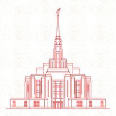 236x236 Ogden Mormon Temple Lds Temple ( Ogden Utah) Lds Temple