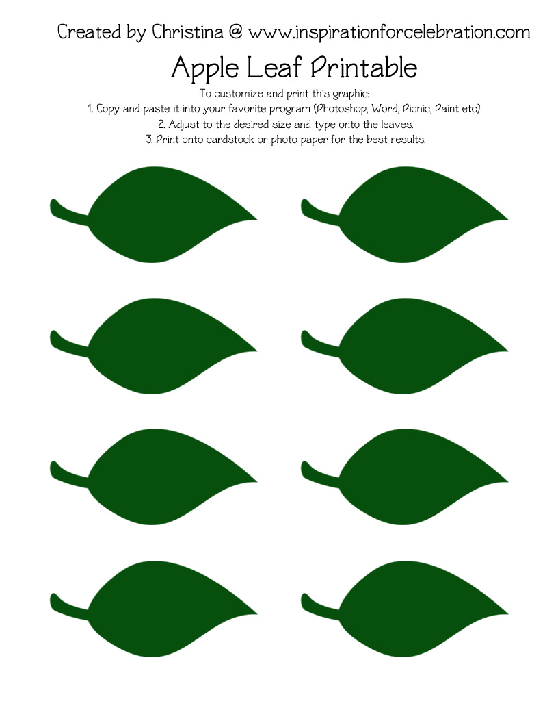 It's just an image of Leaf Template Printable Free for heart shaped leaf