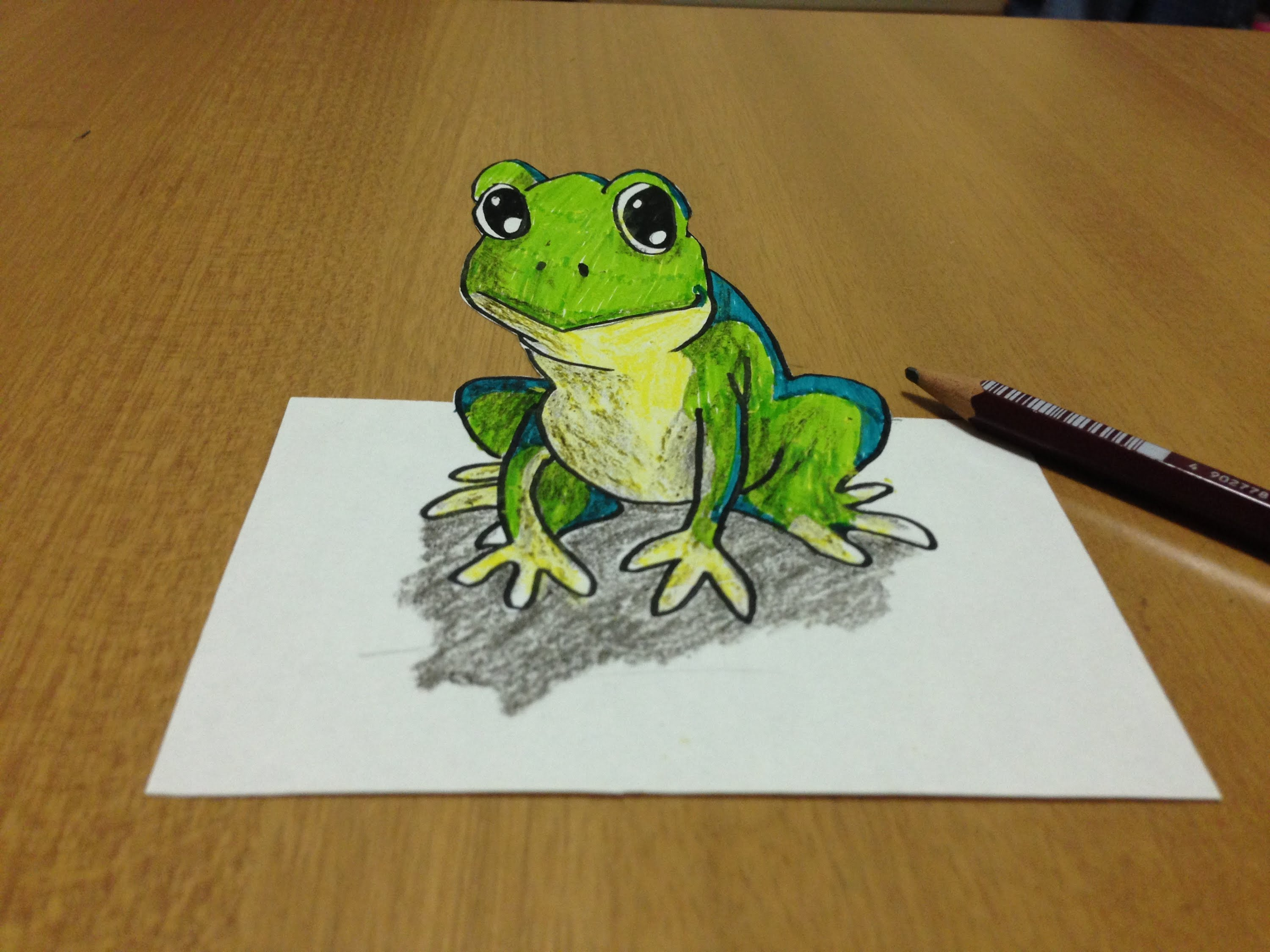 Leaping Frog Drawing at GetDrawings | Free download