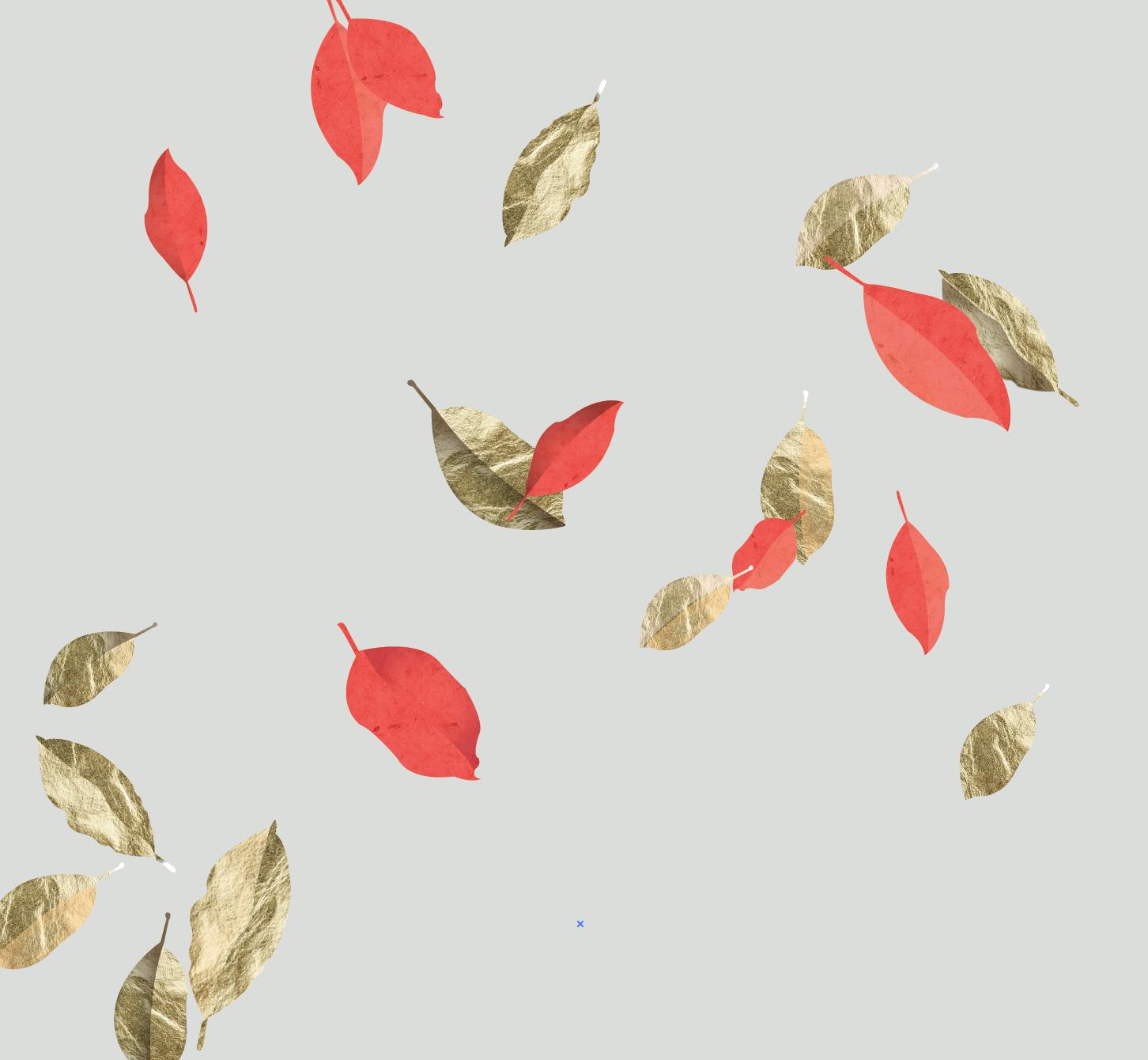 1452x1340 Christa Pierce Illustration Blog Falling Leaves, Drawing Deer