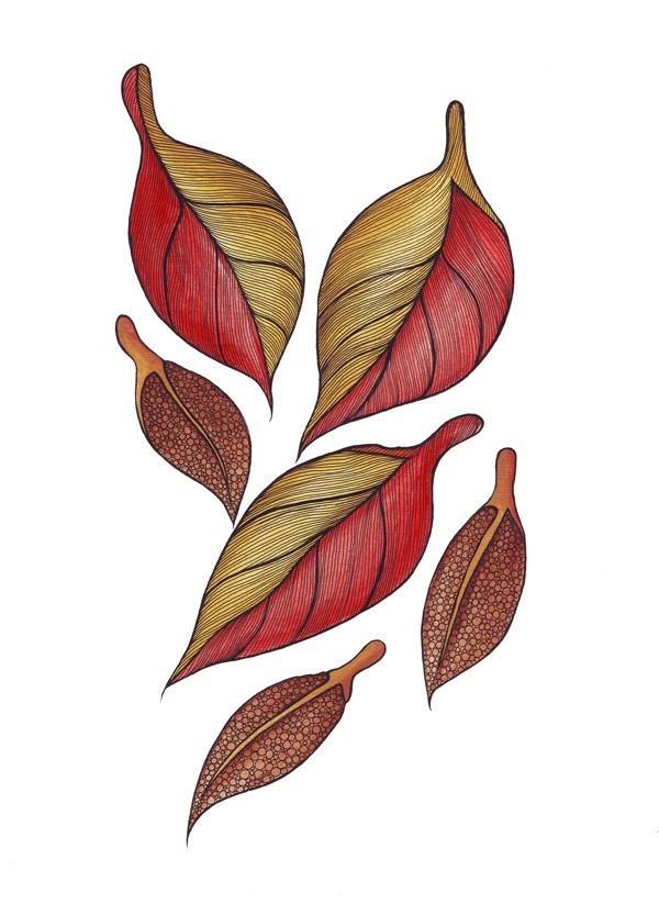 600x833 Lorrie Whittington Falling Leaves