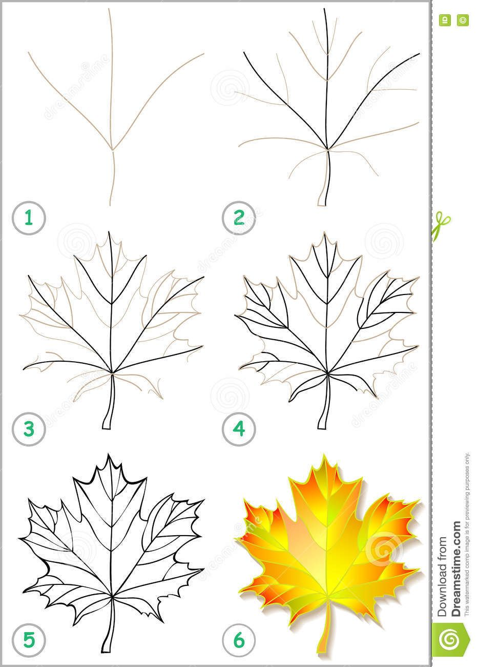 931x1300 Photo About Vector Image. Developing Children Skills For Drawing
