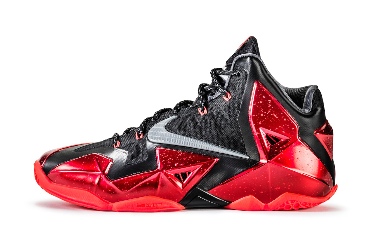 1280x853 Nike Lebron 11 Spiff Crystalline Metallic Details. Do They Affect