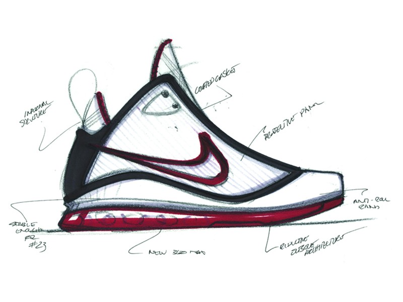 800x600 Nike Air Max Lebron Vii Designed By Jason Petrie Aka Alphaproject