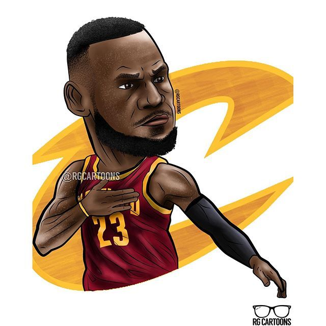 how to draw lebron james full body