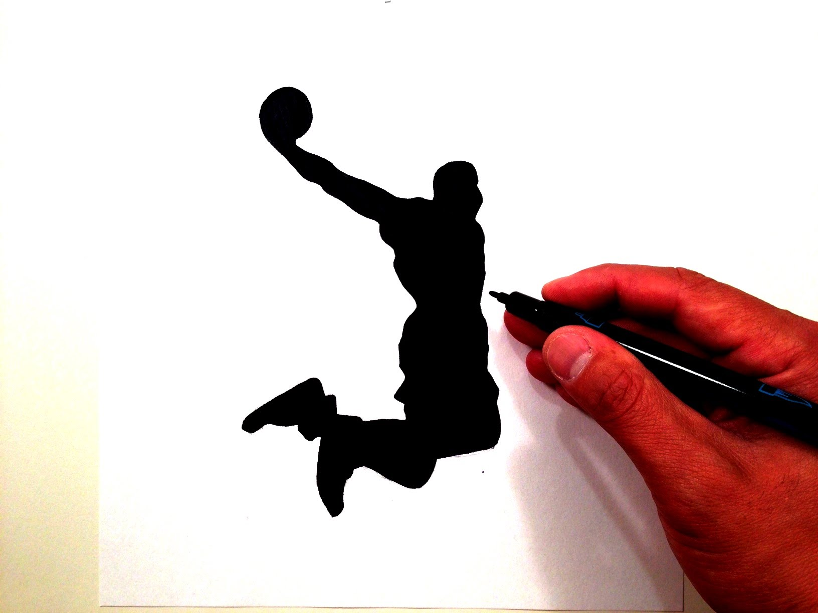 1632x1224 How To Draw The Lebron James Dunk Logo