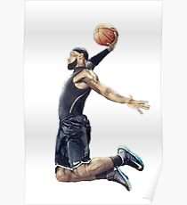 210x230 Lebron James Drawing Posters Redbubble