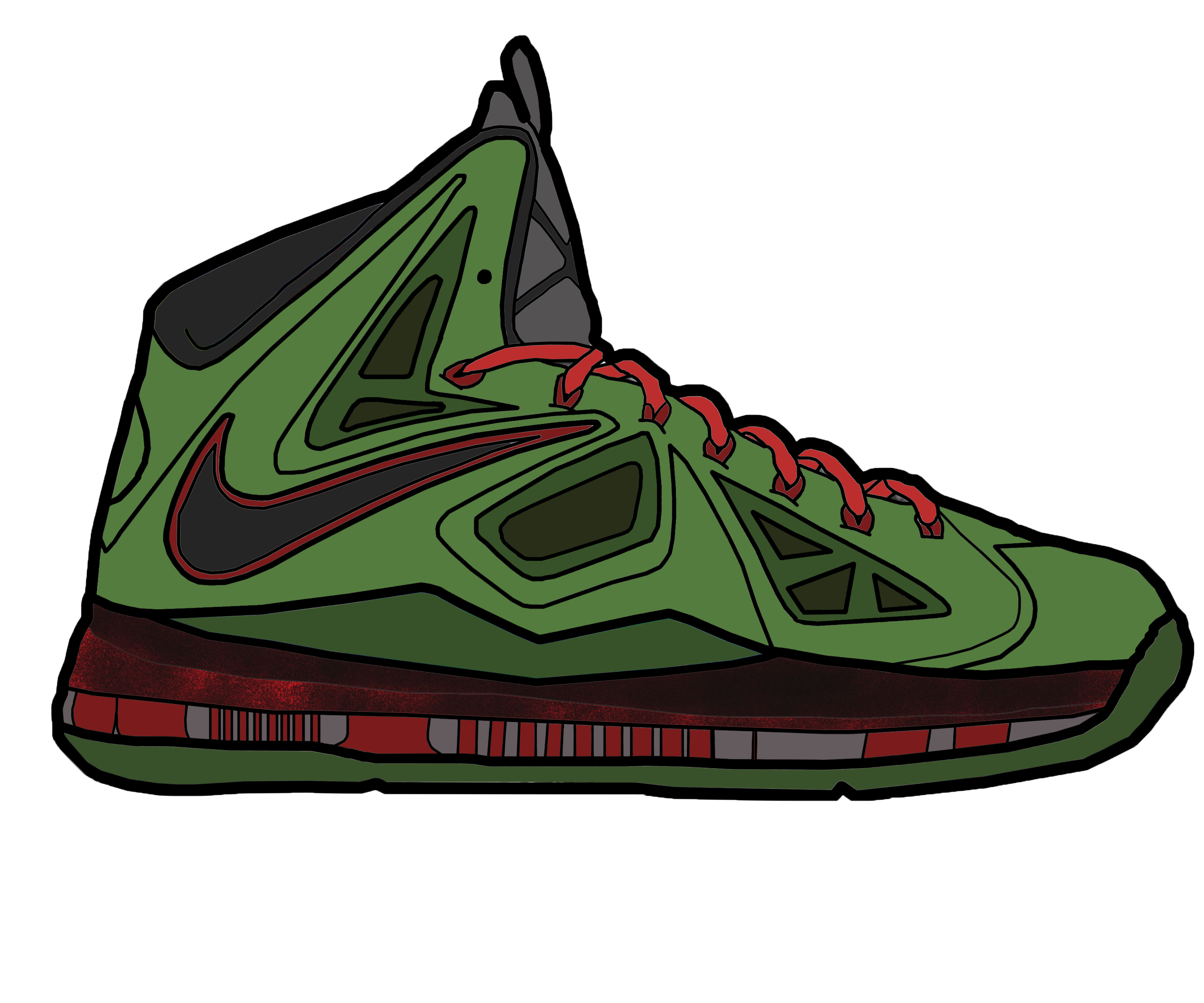 3000x2500 Lebron 10 X Drawing Lebron 10 For Sale Model Aviation
