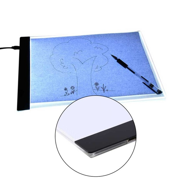 640x640 A4 Painting Drawing Board Magnetic Led Drawing Board Art Stencil