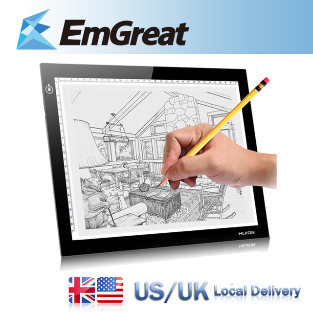 640x640 Huion L4s A4 Led Light Tables Led Drawing Light Pad Tracing