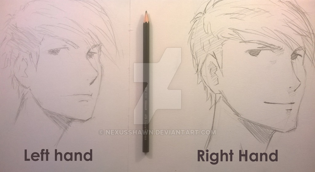 1024x558 Left Hand Vs Right Hand Drawing By Shinsart