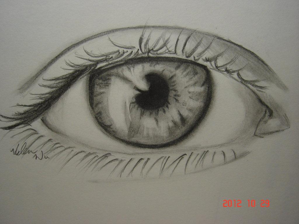 1024x768 Eye (Drawing 1) By Yuuchann44