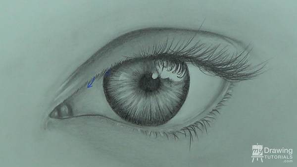600x337 How To Draw An Eye My Drawing Tutorials