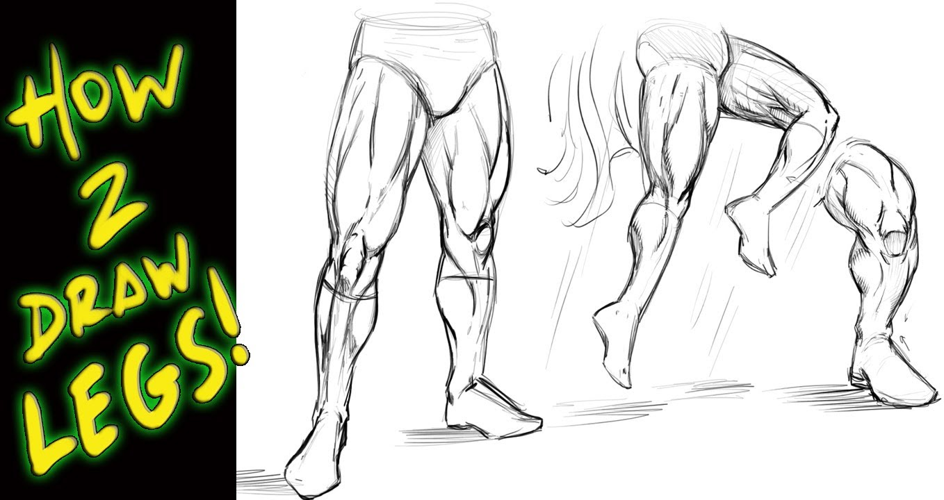 1358x720 How To Draw Legs