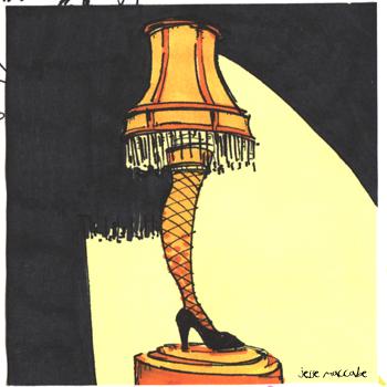 350x350 A Christmas Story ~ Leg Lamp Oolala Jesse Maccabe
