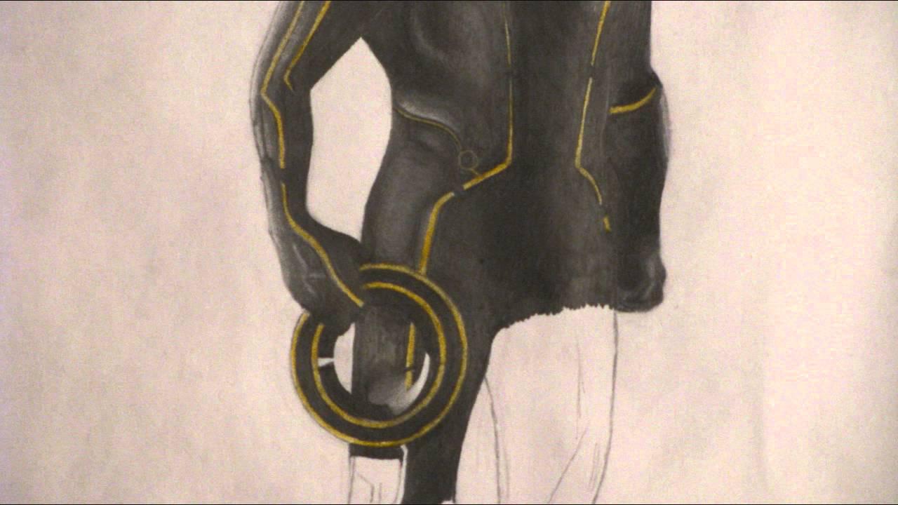 1280x720 Tron Legacy Drawing By Theokandov
