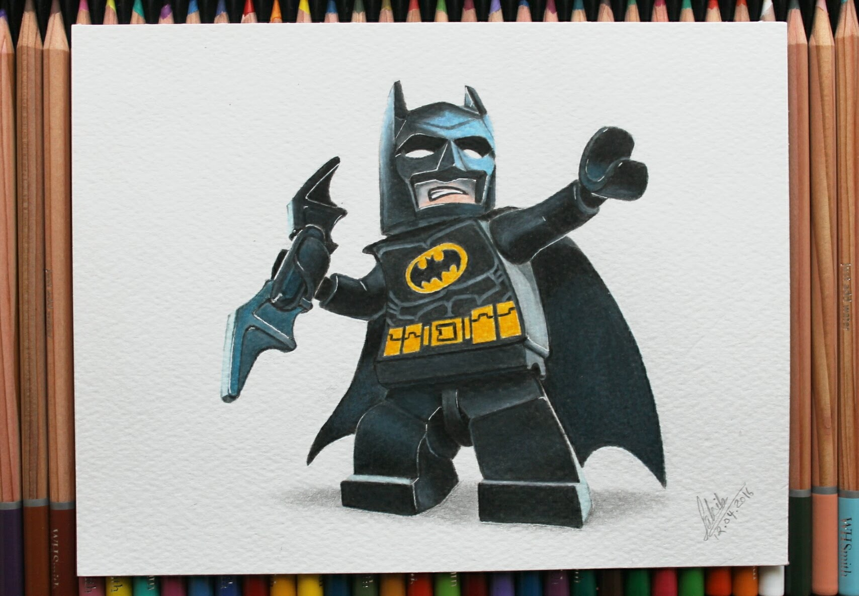 1708x1186 How I Draw And Color Lego Batman Speed Drawing