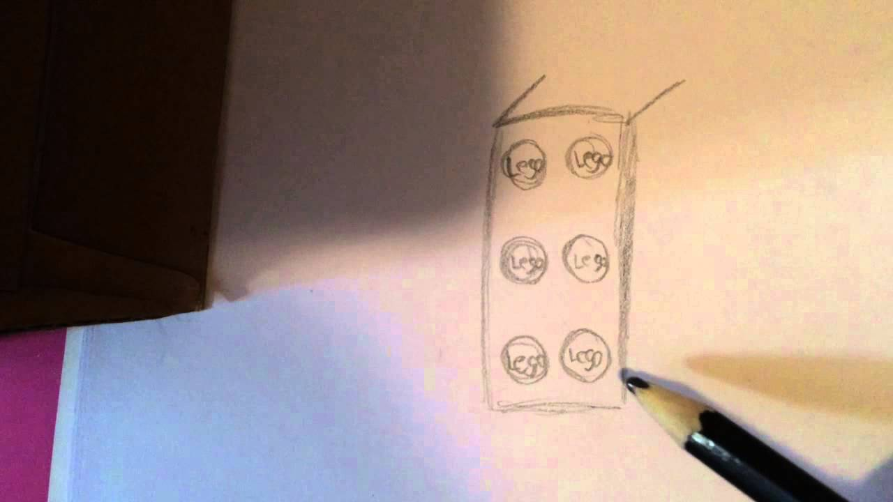 1280x720 How To Draw A Lego Brick