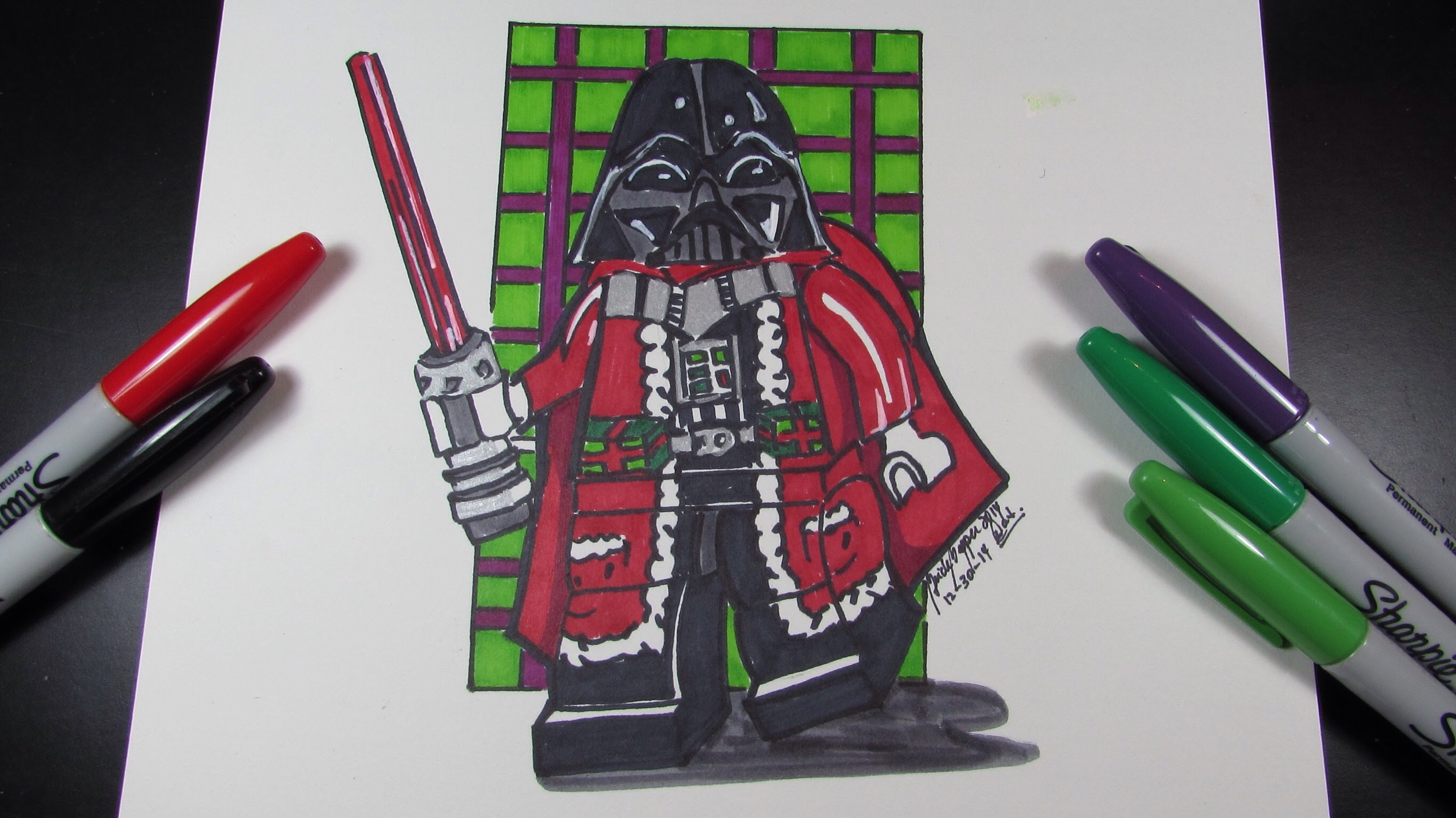 2732x1536 How To Draw Darth Vader