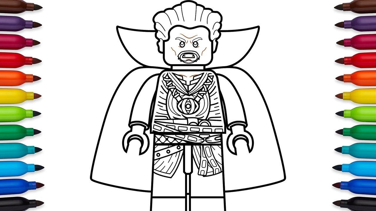 1280x720 How To Draw Lego Doctor Strange (Stephen Strange) From Marvel'S