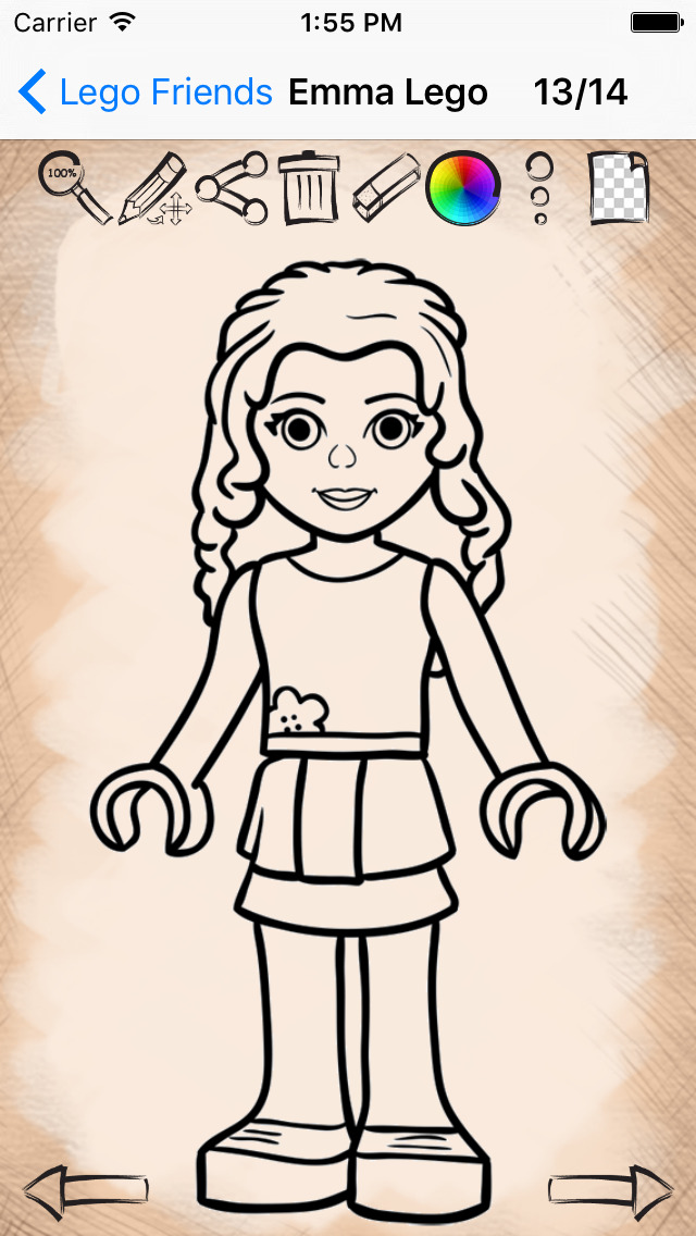 640x1136 Drawing Lessons For Lego Friends Version Apps 148apps