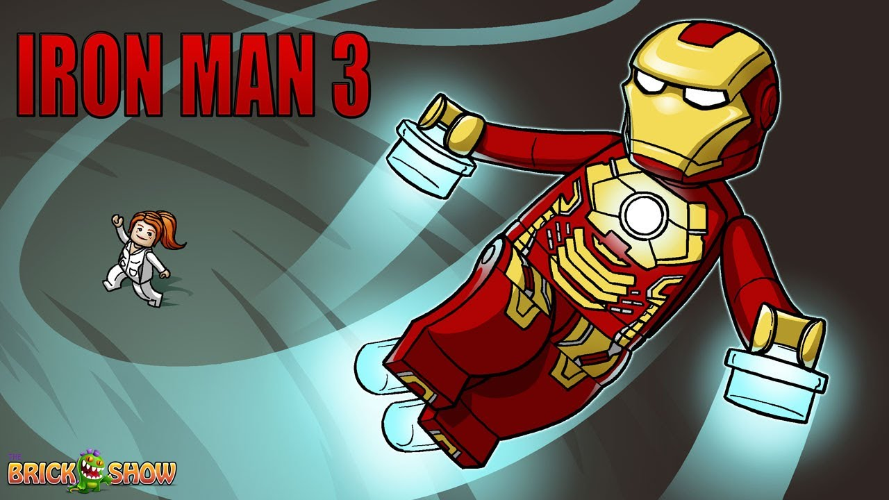 1280x720 BrickArt LEGO Iron Man 3
