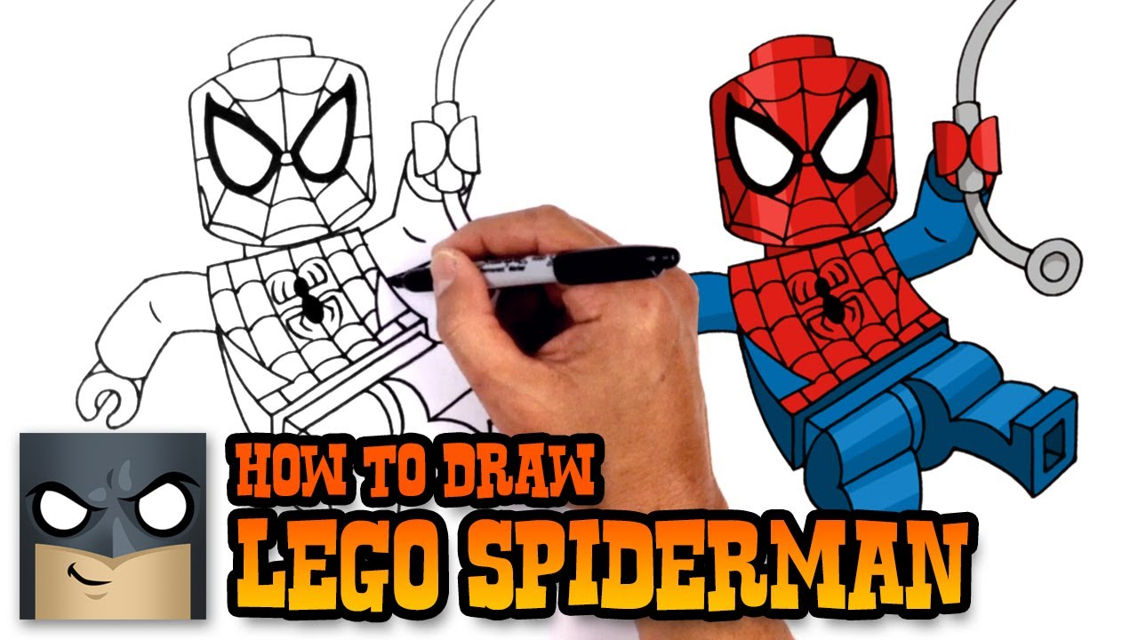 Spiderman Auto Ausmalbilder : Legos Drawing At Getdrawings Com Free For Personal Use Legos