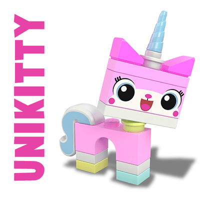 400x400 How To Draw Unikitty Minifigure From The Lego Movie In Easy Steps