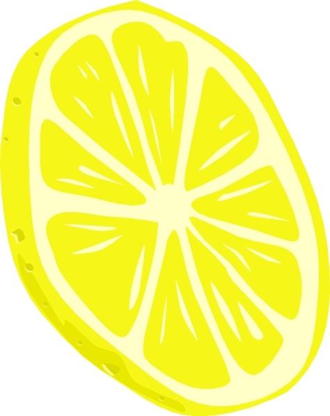 474x596 Lemon (Slice) Clip Art Free Vector In Open Office Drawing Svg