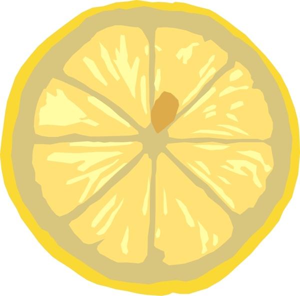 600x591 Lemon Slice Free Vector In Open Office Drawing Svg ( Svg ) Vector