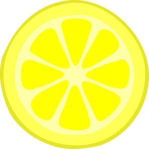297x297 Lemon Slice Paintings Clipart Paintings Lemon