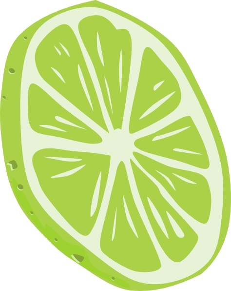 474x596 Lime (Slice) Clip Art Free Vector In Open Office Drawing Svg