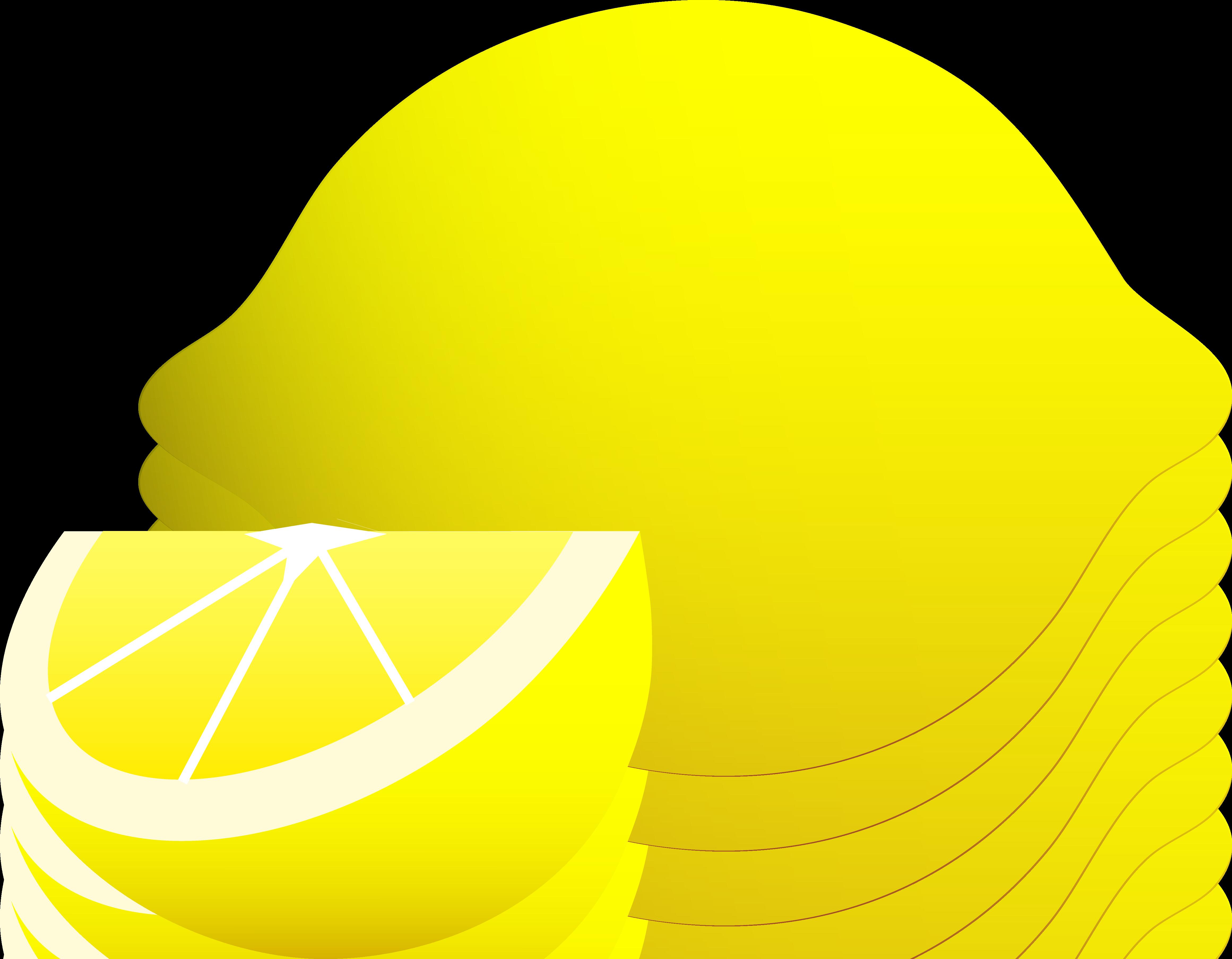 4643x3614 Whole Lemon With Wedge