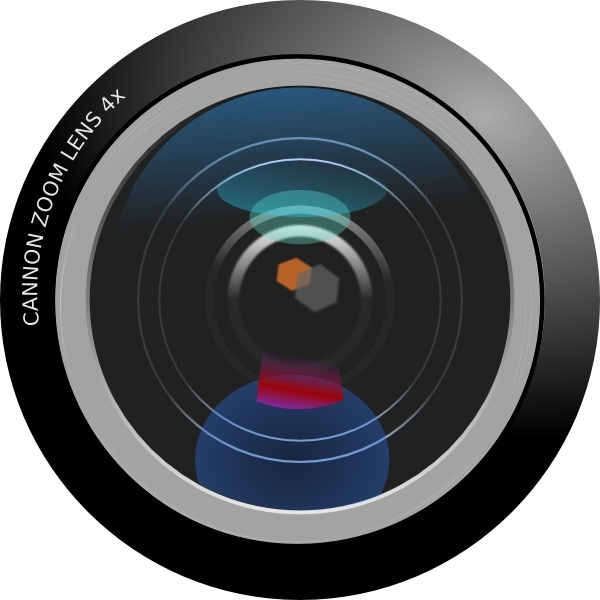 600x600 Camera Lens Clip Art Free Vector In Open Office Drawing Svg ( Svg