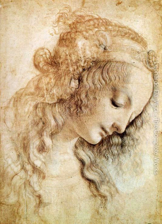 534x738 40 Most Famous Leonardo Da Vinci Paintings And Drawings Da Vinci