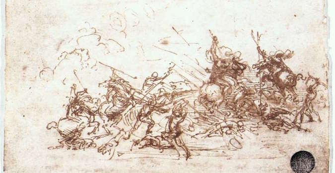 Contour Line Drawing Leonardo Da Vinci : Leonardo drawing at getdrawings free for personal use