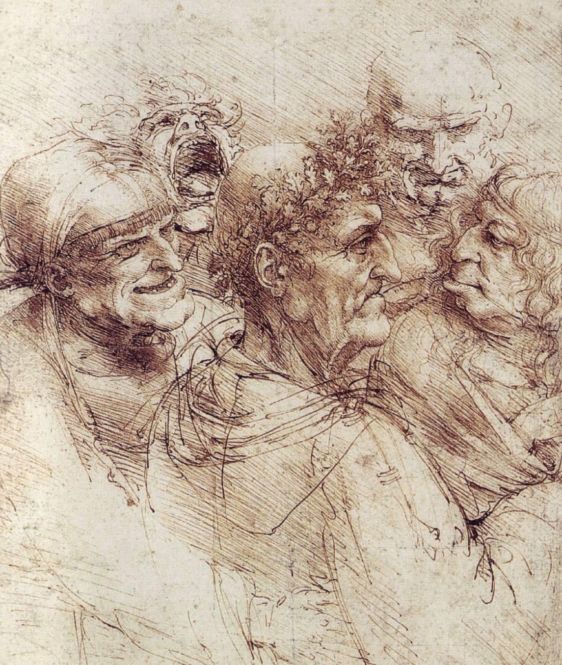 1145x1355 The Drawings Of Leonardo Da Vinci