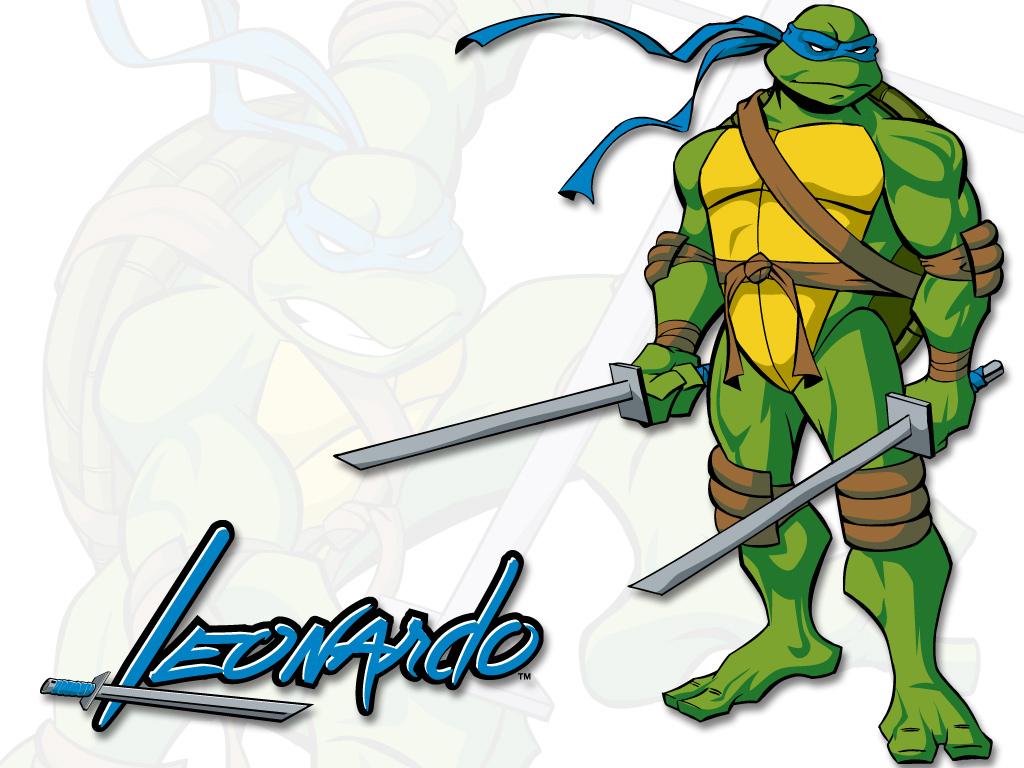 1024x768 Tmnt Leonardo