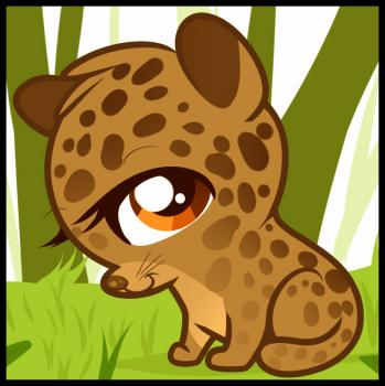 349x350 How To Draw A Leopard For Kids
