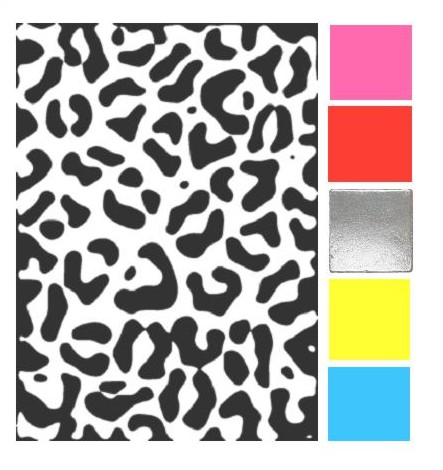 443x470 How Would You Match Black Amp White Leopard Print
