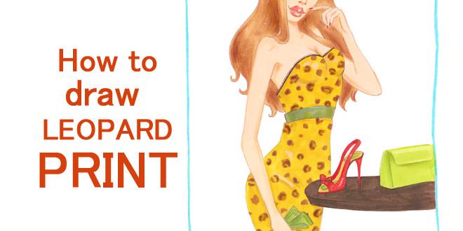 660x330 How To Draw Leopard Print I Draw Fashion