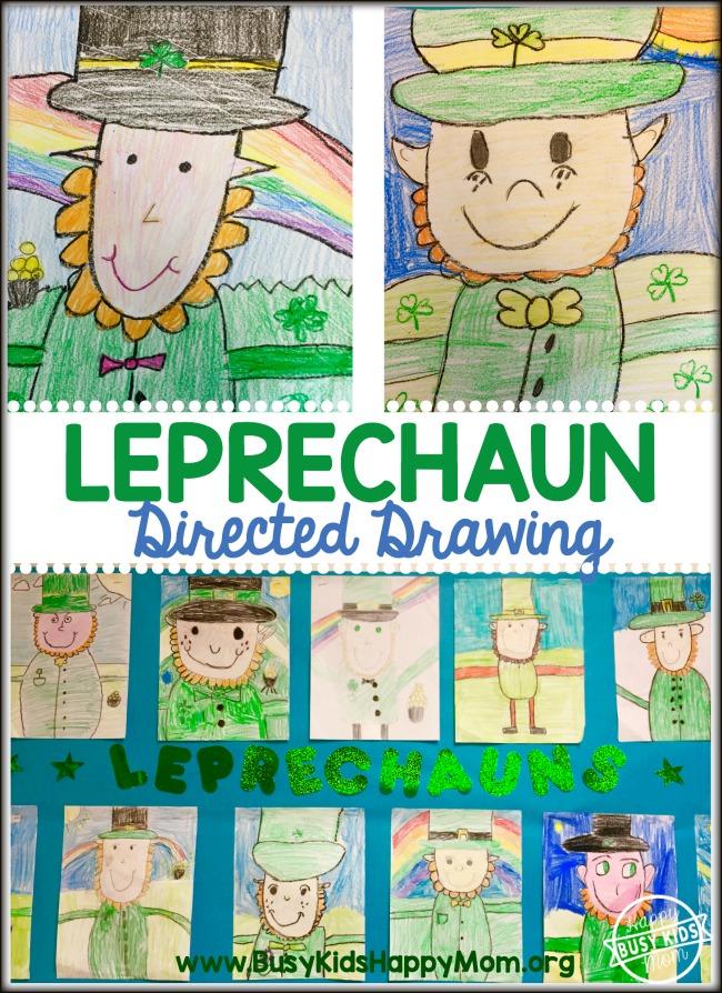 650x894 How To Draw A Leprechaun