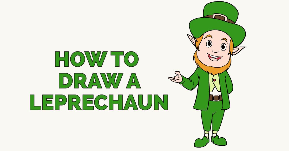 1200x628 How To Draw A Leprechaun