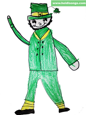 298x400 St. Patrick's Day Fun, Including A Guided Drawing Leprechaun