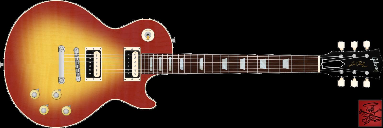 1600x535 Gibson Les Paul Standard (V3) By Spillnerlol